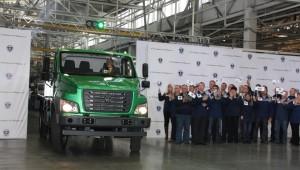 Сход с конвейера первого серийного автомобиля ГАЗон NEXT