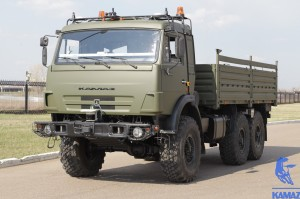 KAMAZ with automated driving